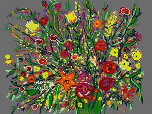 Iris's and Flowers
