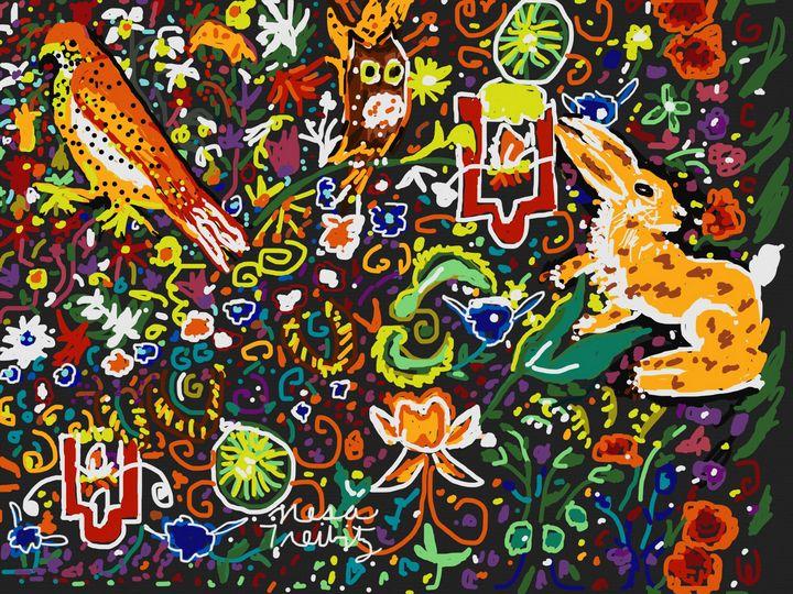 Colorful Spring - Nesa's Art