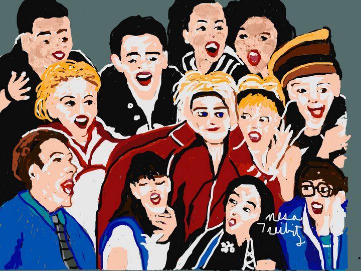 Great Glee Cast - Nesa's Art
