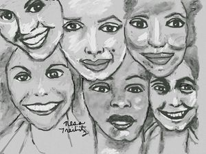 Six Stunning Women