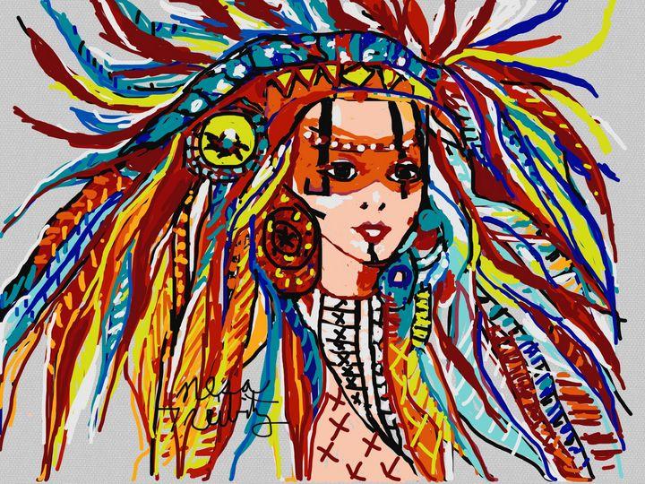 Beautiful Feathers - Nesa's Art