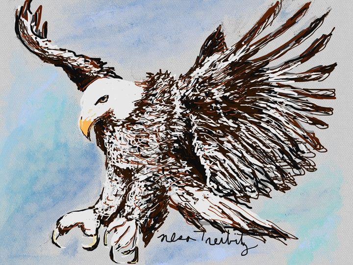 Bald Eagle - Nesa's Art