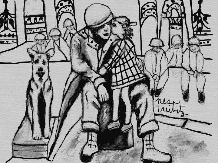 Year 1945 - Nesa's Art