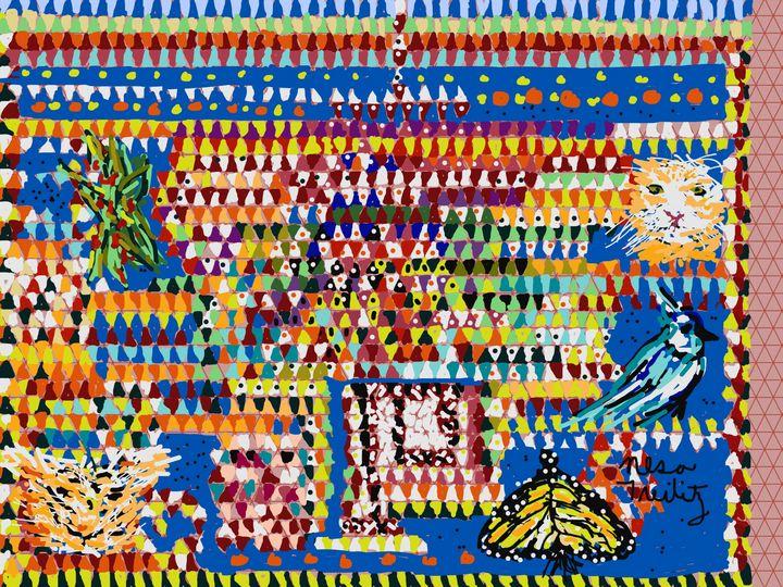 Colorful Art - Nesa's Art