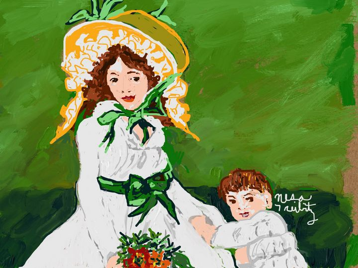 Mother and Child - Nesa's Art