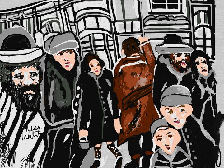 Lower East Side - Nesa's Art