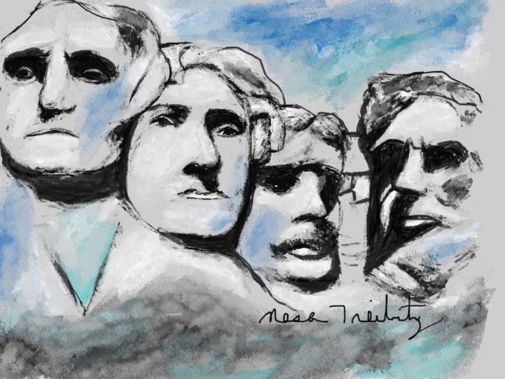 Mount Rushmore - Nesa's Art