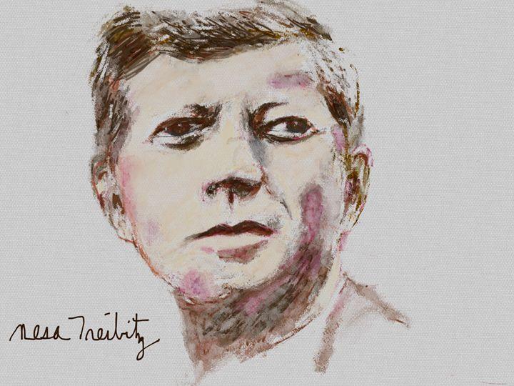 John F. Kennedy - Nesa's Art