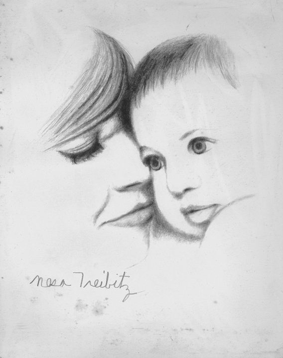 Mother and Baby - Nesa's Art