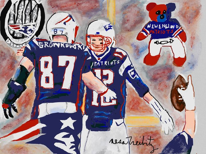 New England Patriots - Nesa's Art