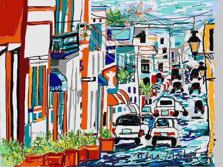 Old San Juan - Nesa's Art