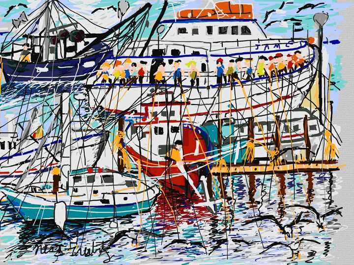 Sheepshead Bay - Nesa's Art