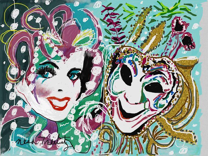 Mardi Gras - Nesa's Art