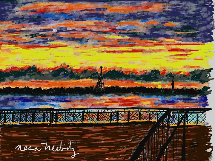 Sunset - Nesa's Art