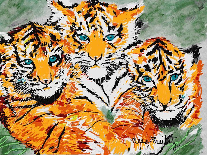Triplets - Nesa's Art