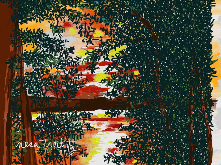 Trees - Nesa's Art