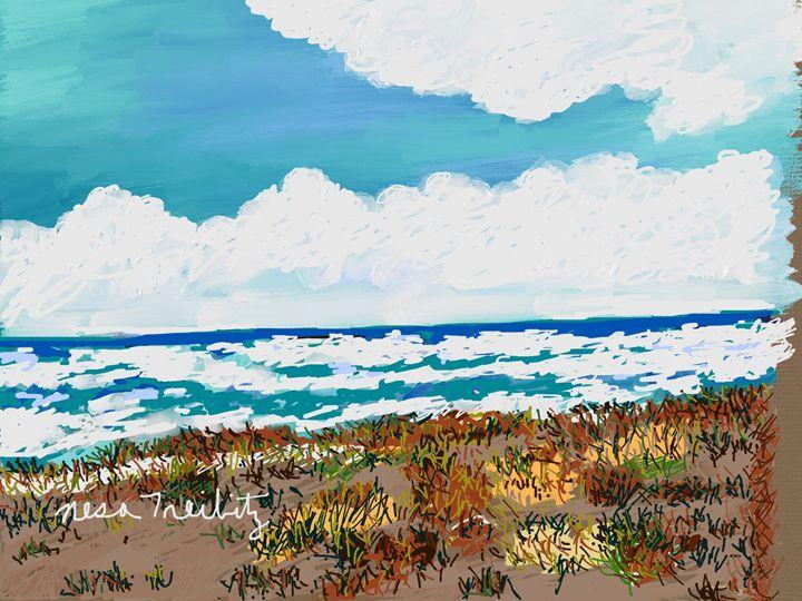 On The Beach - Nesa's Art