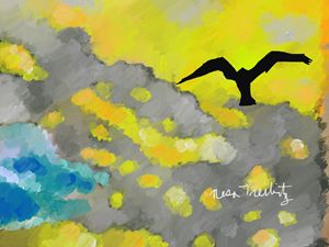 Bird in the Sky - Nesa's Art