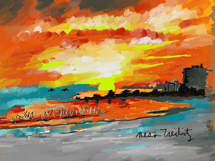 Beautiful Evening - Nesa's Art