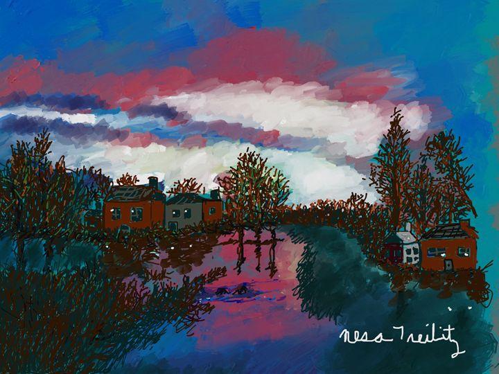 Beautiful Landscape - Nesa's Art