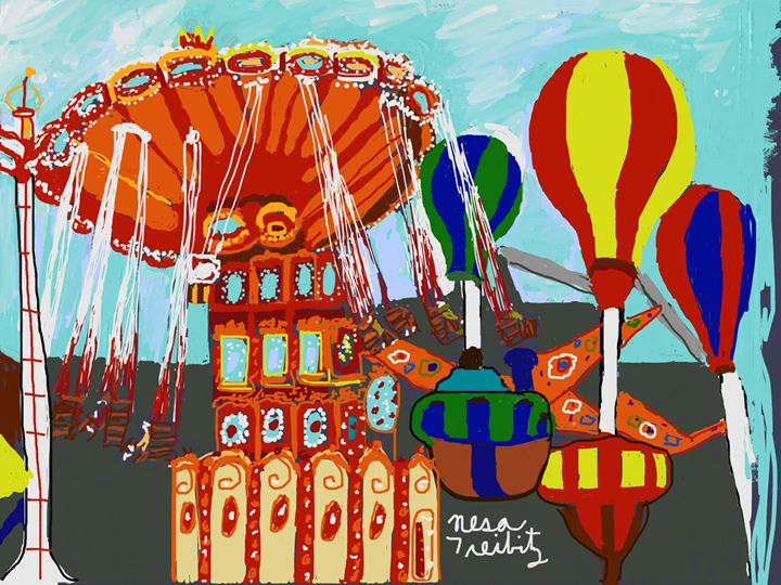 Coney Island - Nesa's Art