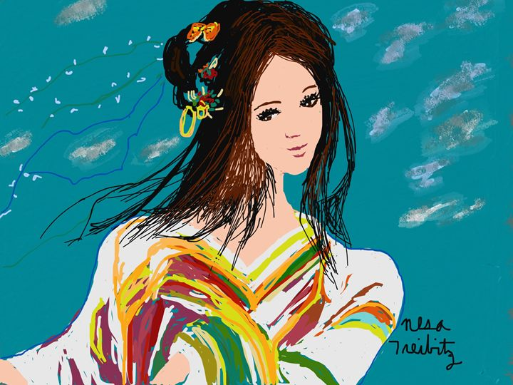 Young and Beautiful - Nesa's Art