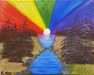 Balanced Chakra Sunrise