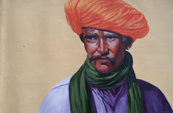 Rajasthani Man - Neha Chine