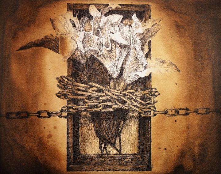 Chained - Jim Haller Fine Art