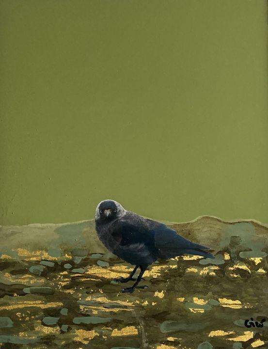 oiseau - Giro (nom artiste)Franck Giraud