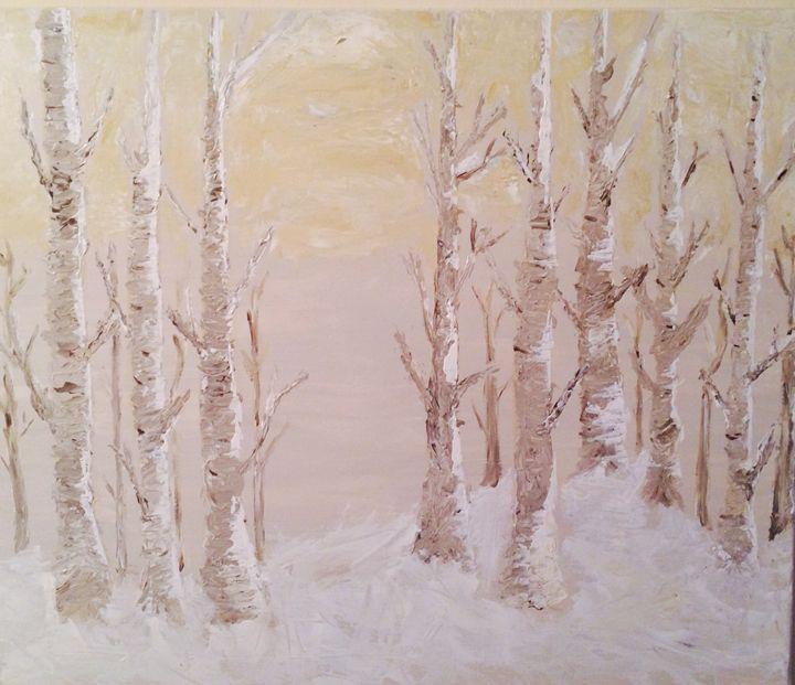 Winter Birches - Atlantic Visions