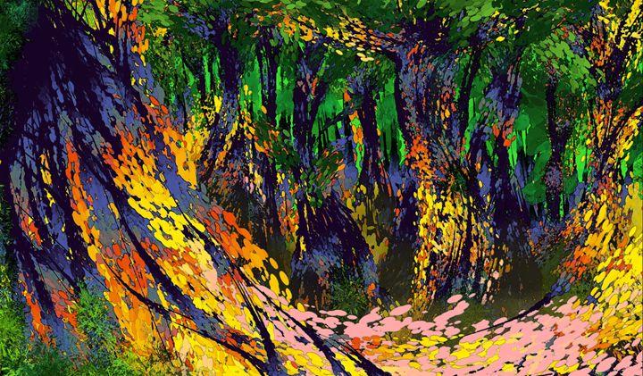 Faerie Wood - Linn S. Golland