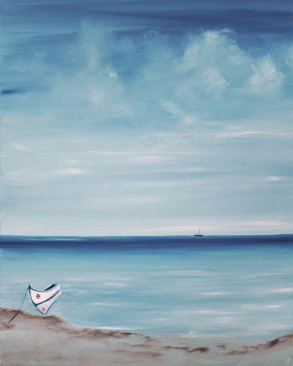 Lusitano, the little boat. - Nella Alao