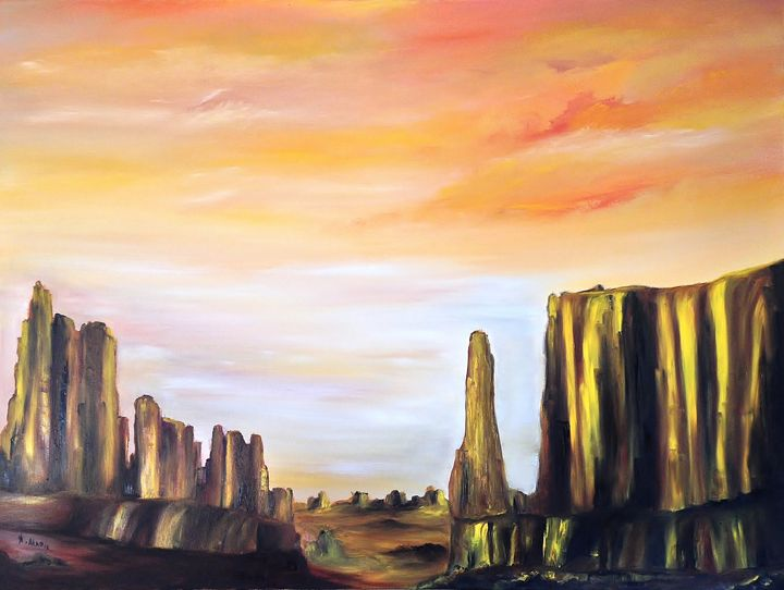 Golden Desert - Nella Alao
