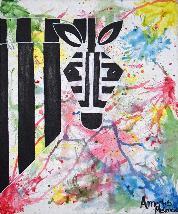 Más Allá de los Colores de la Cebra - Amerfis Melenciano