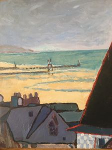 Trouville the beach - C.Dehask