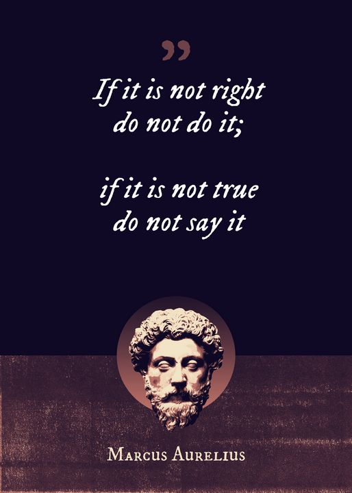 If it is not right do not do it - Superordinat