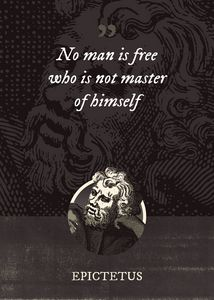 No man is free who is not master of - Superordinat
