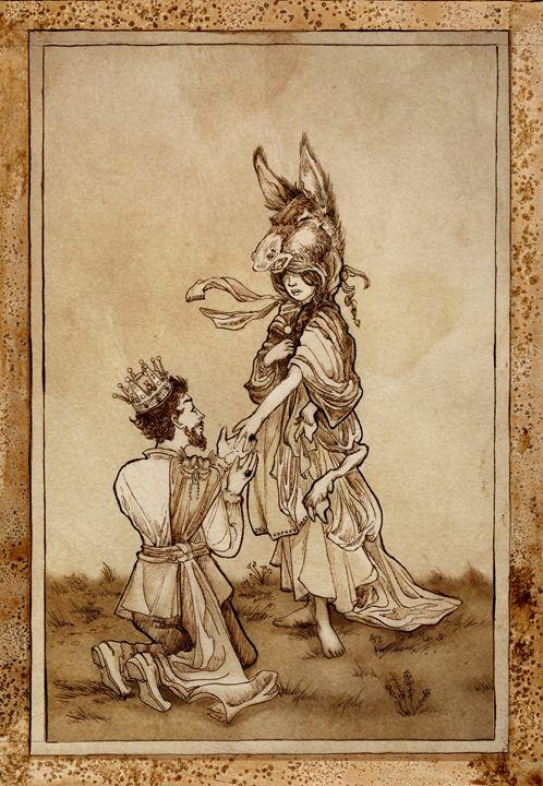 Donkey Skin - Shelby E. Boswell Illustration