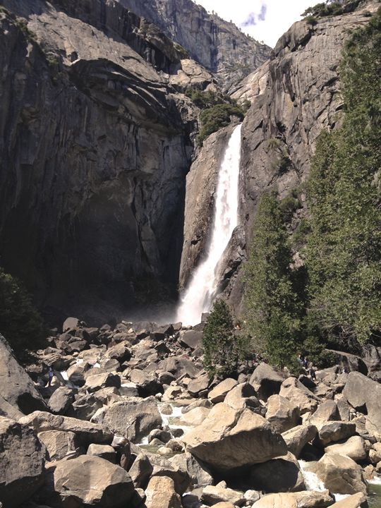 Yosemite Falls - Empty Cup Gallery