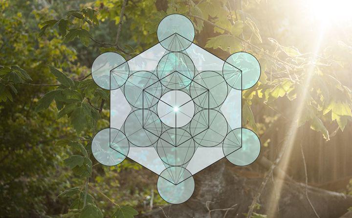 Cube Mandala - Empty Cup Gallery
