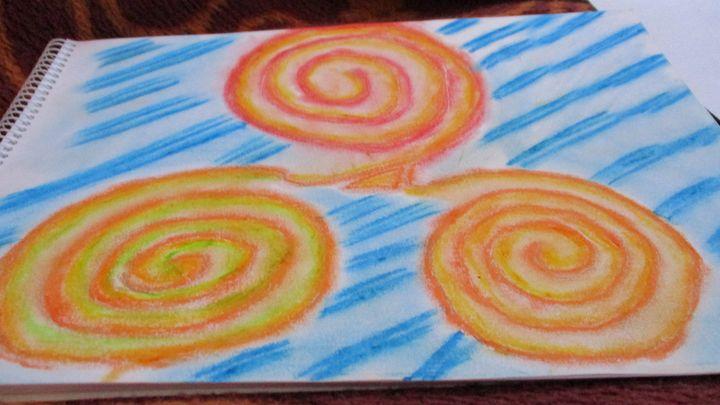 Bright colours - My wild Art