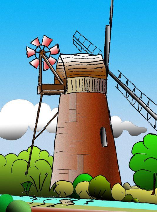 Windpump, Norfolk - Roy Isaacs