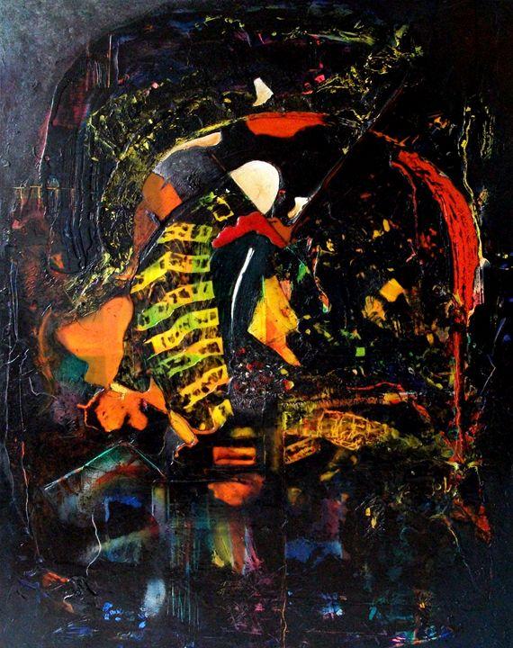Industrial Image 1 (122cm x 92cm) - Roy Isaacs