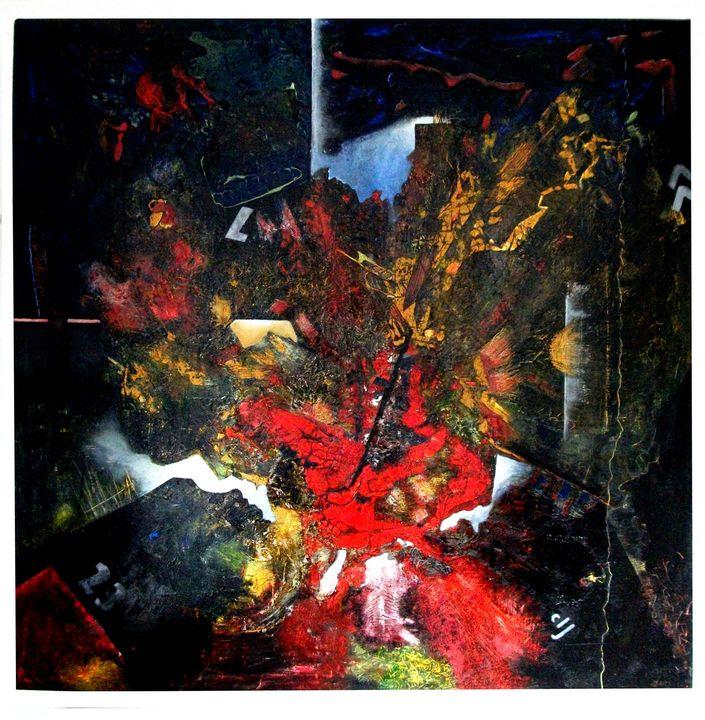 Process point (153cm x 153cm) - Roy Isaacs