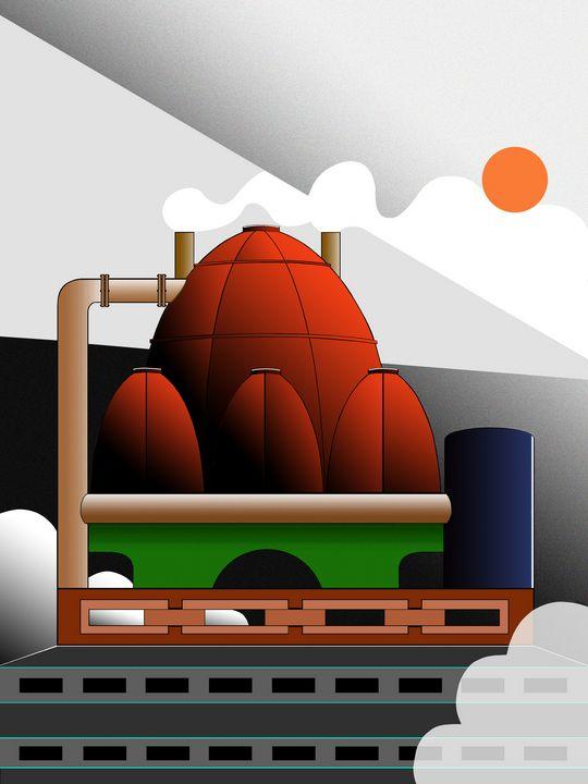 Industrial Sunrise - Roy Isaacs