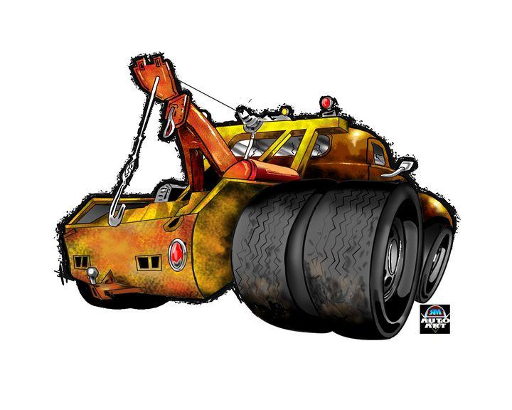 Tow Truck - RM Auto Art