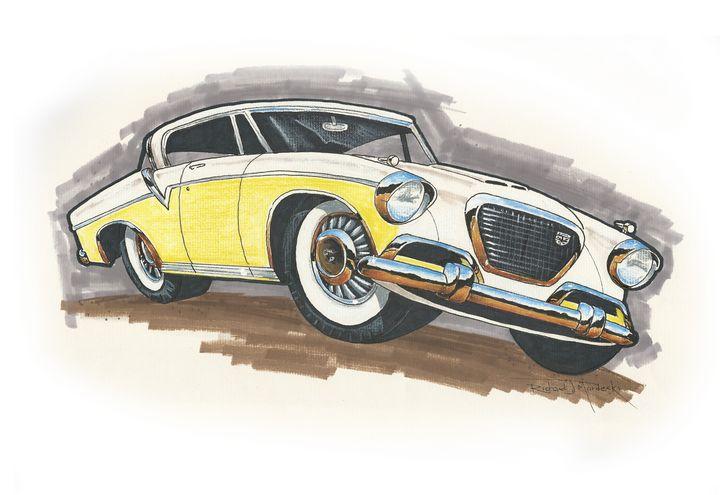 Studebaker Hawk - RM Auto Art