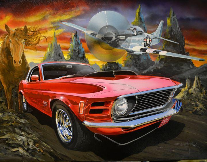 Mustangs III - RM Auto Art