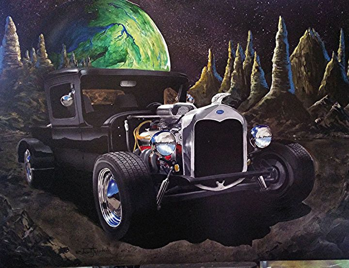 Model A In Space - RM Auto Art